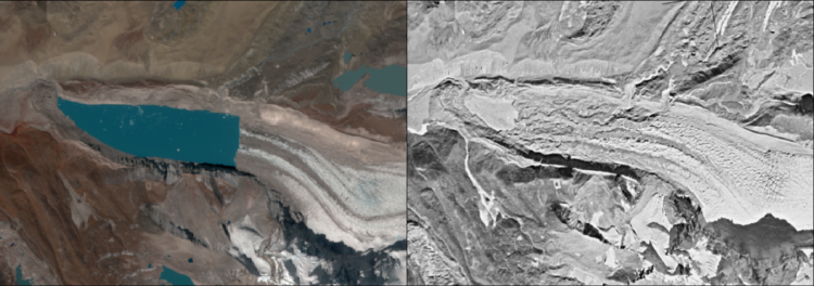 Significant retreat of a glacier and growth of its proglacial lake in Sikkim Himalaya