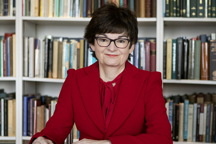 Professor Sally Mapstone, Principal and Vice-Chancellor of the university of st andrews
