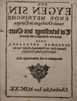 Copy of a 17日-century newspaper advertisement